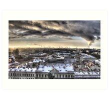 Industrial Russia Art Print