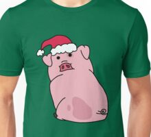 Christmas Waddles the Pig! Unisex T-Shirt