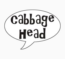 Insults Collection: Cabbage Head by BethXP