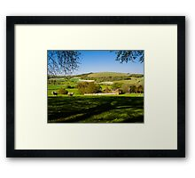 Wessex Downs Framed Print