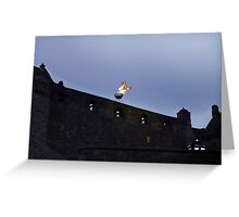 Edinburgh Castle - Doctor Who Greeting Card