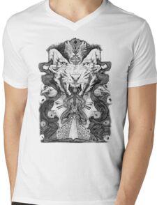 Rage & Fury Mens V-Neck T-Shirt