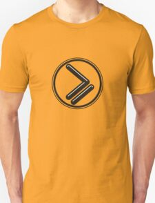 Greater than or Equal to - wht highlight T-Shirt