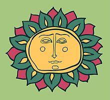 Sun face by OlgaBerlet