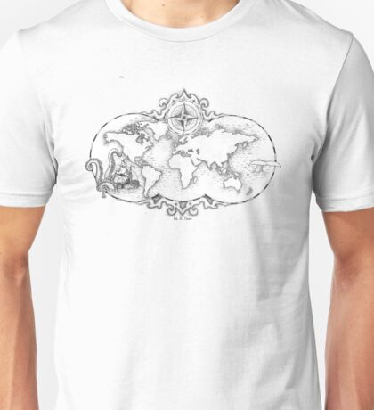 Mapped Out Unisex T-Shirt
