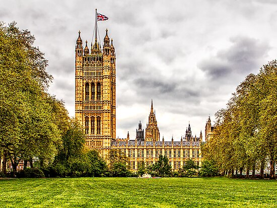 Houses of Parliament - Victoria Tower by Andy Burke