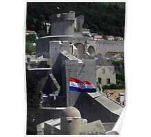 Minceta Fortress & Old Town Walls  Poster