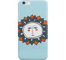 Sun face iPhone Case/Skin