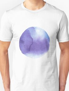 watercolor stains, background, design element, pattern. Unisex T-Shirt