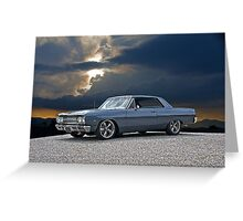 1965 Chevrolet Chevelle II Greeting Card