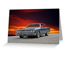 1965 Chevrolet Chevelle III Greeting Card