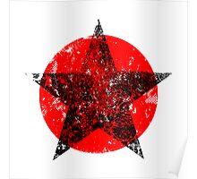 Circle and star Poster