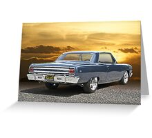 1965 Chevrolet Chevelle IV Greeting Card