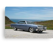 1965 Chevrolet Chevelle V Canvas Print