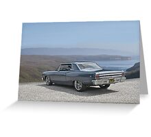 1965 Chevrolet Chevelle VII Greeting Card