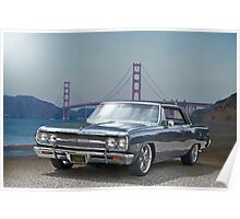1965 Chevrolet Chevelle VIII Poster