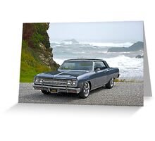 1965 Chevrolet Chevelle IX Greeting Card