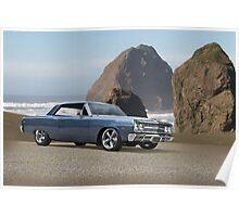 1965 Chevrolet Chevelle X Poster