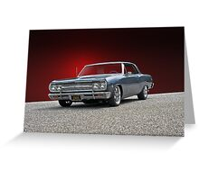 1965 Chevrolet Chevelle XII Greeting Card