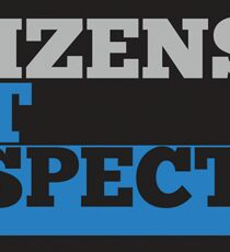 Citizens Not Suspects Sticker