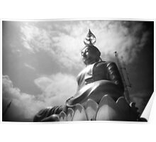 Buddha Up In The Clouds - Lomo Poster