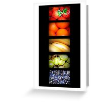 5 A Day Greeting Card