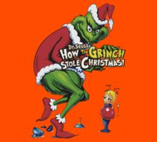 How the Grinch Stole Christmas Kids Tee