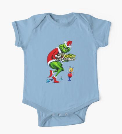 How the Grinch Stole Christmas One Piece - Short Sleeve