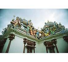 An Imposing Gallery - Lomo Photographic Print