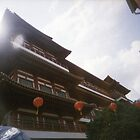 Buddha Tooth Relic Temple - Lomo by Yao Liang Chua