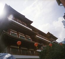 Buddha Tooth Relic Temple - Lomo by Yao Liang Chua