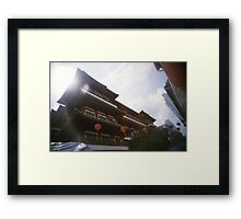 Buddha Tooth Relic Temple - Lomo Framed Print