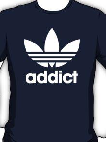 Addict Originals in White T-Shirt