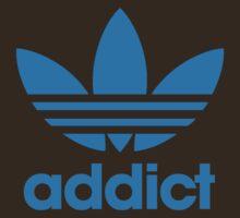 Addict Originals in Adidas Blue by BludMuffin