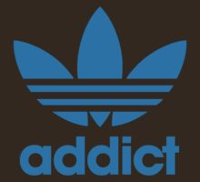 Addict Originals in Adidas Blue by BludMuffin