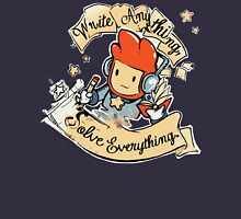 Write Anything, Solve Everything. Womens Fitted T-Shirt