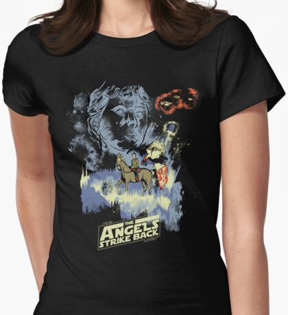 TIME LORD: Episode V Womens Fitted T-Shirt