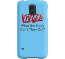 RedVines: What the Heck Can't They Do!? Samsung Galaxy Case/Skin