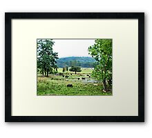 """The Watering Hole"" Framed Print"