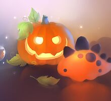 Pumpkin Dino by apofiss