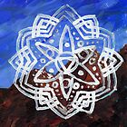 Mountain Streams Mandala by Daniel ML