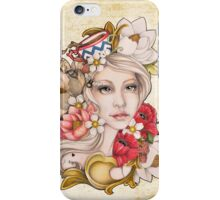 Mom's Cup of Tattoo Color iPhone Case/Skin
