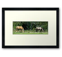 Marius and Monty Framed Print