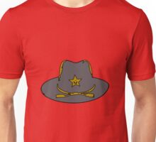 Sheriff hat Unisex T-Shirt