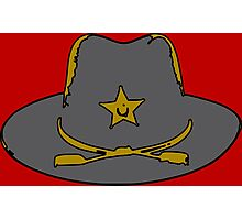Sheriff hat Photographic Print