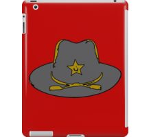 Sheriff hat iPad Case/Skin