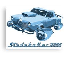 Studebaker 3000 (Blue) Canvas Print