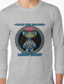 Lonely Robot: Proton Melancholy  Long Sleeve T-Shirt