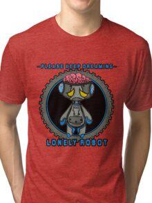 Lonely Robot: Proton Melancholy  Tri-blend T-Shirt