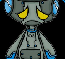 Lonely Robot: Proton Melancholy  Sticker